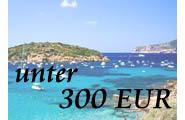 Reisen für unter 300 EUR